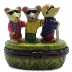 Children's Jewelry Boxes Three Blind Mice