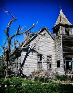 Cottonwood Church South Dakota Abandoned Buildings Places Place Of Worship 50 States