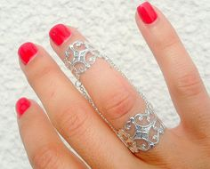 Slave Ring  Slave Rings  Chain Rings  Armor Ring by TinyBox12, $20.99