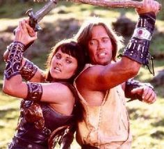 Xena (Lucy Lawless) & Hercules (Kevin Sorbo)