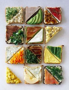 Classy high tea sandwiches // Let's try!