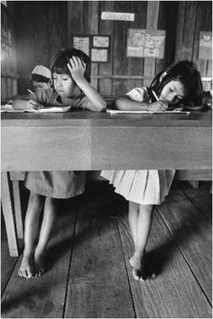 Sebastião Salgado  Girls at school :0)