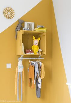 6 space saving ideas for small kids bedrooms - DIY home decor - Your DIY Family Kids Decor, Diy Home Decor, Decor Ideas, Creative Decor, Cool Walls, Kid Spaces, Kids Bedroom, Kids Rooms, Bedroom Ideas