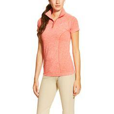 Ariat Ladies Odyssey Seamless Shirt - Flame Heather