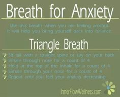 Help for anxiety