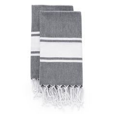 Set Of Hamptons Hand Towels   Fossil