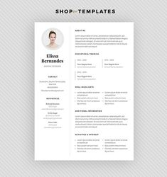 Resume How Many Pages Professional Resume Template Cv Template Editable In Ms Word And  Objective For Resume Examples with Resume Templates Free Word Resume Template  Cv Template  Cover Letter For Ms Word And Photoshop   Instant Digital Download  Pollux Photography Resume Template Pdf