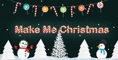 MMX - Make Me Christmas . The magic of Christmas on your wordpress website.    Surprise your visitors wonder of Christmas, Christmas Hanging and Bunting, Snow, Snowman, Christmas tree and of course Santa