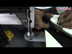 Double Katori Blouse - 4. Getting ready for the stitch - YouTube