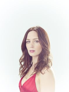 Emily Blunt by Michael Muller.