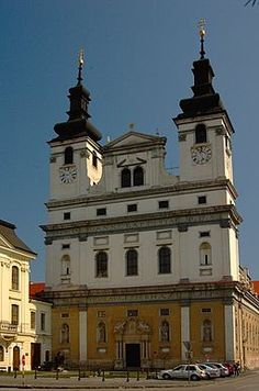 Cathedral of St. John the Baptist, Trnava, Slovakia Slovak Language, Continental Europe, Heart Of Europe, Big Country, Church Building, John The Baptist, Fortification, Ancient Ruins, Historia