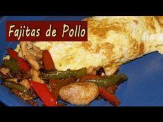 ▶ Fajitas de Pollo Dukan - Dukan Chicken Fajitas - Receta Fase Crucero - YouTube