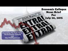 Current Economic Collapse News Brief - Episode 726