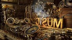 Steampunk music letters Typography HD desktop wallpaper, Letter wallpaper, Speaker wallpaper, Steampunk wallpaper - Typography no. Music Wallpaper Hd, Music Backgrounds, Desktop Wallpapers, Artistic Wallpaper, Amazing Wallpaper, View Wallpaper, Studio Musical, Good Music, My Music