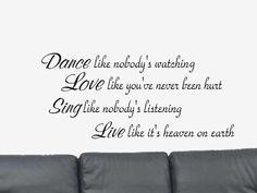 Dance Like Nobody's Watching...