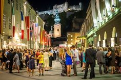 Salzburger Festspiele- i've been to Salzburg many times but never to this!  Must go at least once!