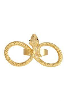 Infinity Snake Ring