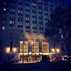 The famous Waldorf Astoria