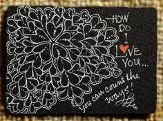 Heart Zentangles | Ten tangled heart-strings