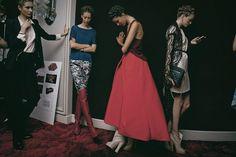 За кулисами шоу Ulyana Sergeenko Couture осень-зима 2012 #ulyanasergeenko