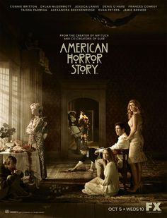"""Jessica Lange, Connie Britton and Taissa Formiga in """"American Horror Story: Murder House"""". Dylan Mcdermott, American Horror Story Saison, American Horror Stories, American Horror Story Characters, Best Tv Shows, Favorite Tv Shows, Favorite Things, Series Poster, Cultura Nerd"""