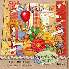 Natalie's Little Corner of the World: My Scrapbook Kits
