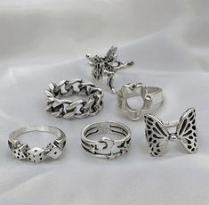 Grunge Accessories, Grunge Jewelry, Etsy Handmade, Fairy, Amazon, Rings, Shop, Vintage, Amazons