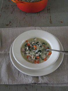 Chicken adn Rice Soup