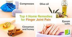 top 4 remedies for finger joint pain  Visit us  jointpainrepair.com  Via  google images  #jointpain #jointpains #jointpainrelief #kneepain #kneepains #kneepainnogain #arthritis #hipjoint  #jointpaingone #jointpainfree