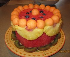 Watermelon cakes Robert Weil