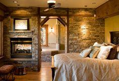 casas rusticas habitaciones calidas