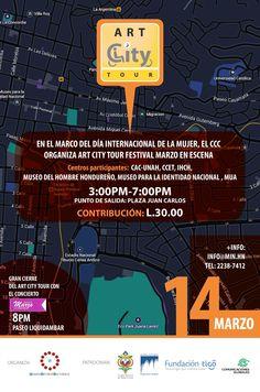 Nota: Reserva la fecha para el Art City Tour del proximo sabado 14 de marzo. Invita Comité de Centros Culturales de Tegucigalpa  + info@min.hn Telefono:2238-7412 Museo para la Identidad Nacional MIN