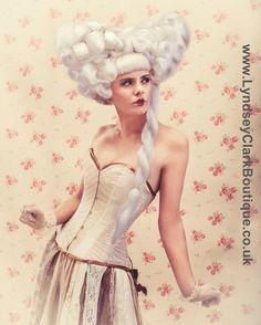 Steampunk wedding dress. Alternative corset by LyndseyBoutique, £670.00