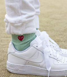 nike airforce 1 + comme de garcons socks