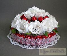 Gallery.ru / Фото #17 - Оформление конфетных коробок. Тортики из конфет. - boogi-woogi