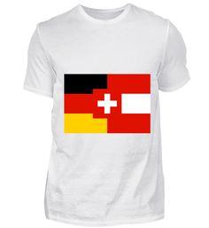DACH Deutschland Österreich Schweiz T-Shirt