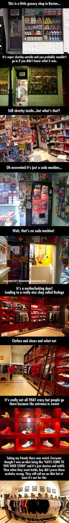 Bodega – Boston, Massachusetts Located on 6 Clearway Street. Bodega Boston, In Boston, Places To Travel, Places To See, Boston Living, Tiny Shop, Boston Massachusetts, Sports Luxe, Vending Machine