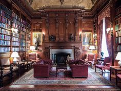 Mansion Library | Literary Club :: Location Scout :: Sam Rohn :: NYLocations.com ::