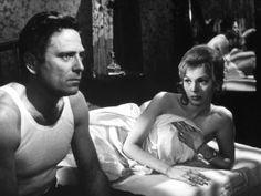 """Gordana Miletic e Raf Vallone ne """"La Garçonnière"""" (1960)."""