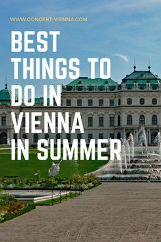 Summer in Vienna is amazing! Tap this pin to find out the very best things to do in Vienna, Austria at this time of year. Croatia Travel, Thailand Travel, Bangkok Thailand, Italy Travel, Summer Travel, Hawaii Travel, Best Places To Travel, Cool Places To Visit, Vienna Summer