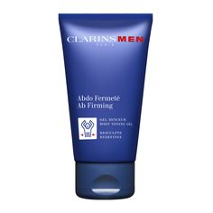 ClarinsMen Ab Firming - A refreshing gel that eliminates the appearance of excess fat in the abdomen and waistline. Quickly absorbed, this gel helps to visibly firm the abdominal area, sculpt the body and tone skin. Skin care expertise that helps to increase the effects of physical activity.  Combine with a balanced diet and regular exercise for best results.