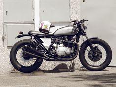 Custom #Kawasaki KZ750 Twin by Cafe Racer Dreams