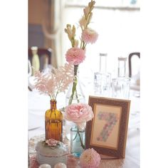 Mint Green And Pastel Hues For A Romantic and Pretty DIY Bandstand... ❤ liked on Polyvore featuring room