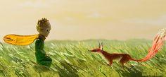 """Três imagens da linda animação """"O Pequeno Príncipe"""""""