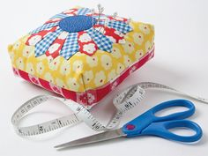 Free pincushion pattern from Quiltmaker magazine