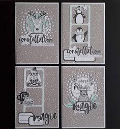 ello insta je commence doucement à vous montrez mes séries de cartes pour les fêtes ☺ J'ai 2 coups de coeur en cette fin d'année le 1 er
