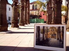 Watercolor in Tomares , Sevilla