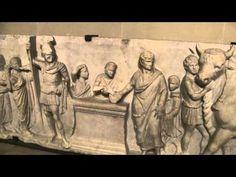 Roman Sculptural Relief -Domitius Ahenobarbus- Louvre ©Aude Rain - YouTube