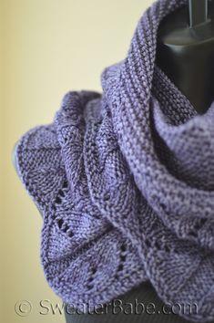 Gorgeous Sweater Babe Knitting Pattern: Hillside Blooms