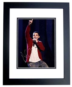 Drake Signed - Autographed Rapper - Singer - Actor 11x14 Photo - aka Aubrey Graham - BLACK CUSTOM FRAME -- Awesome products selected by Anna Churchill